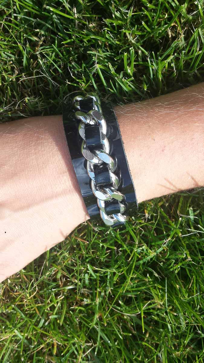 Armband, schwarz
