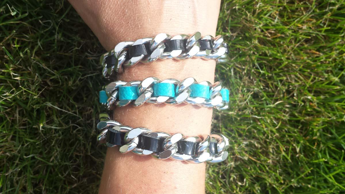 Armbänder, verschiedene Farben