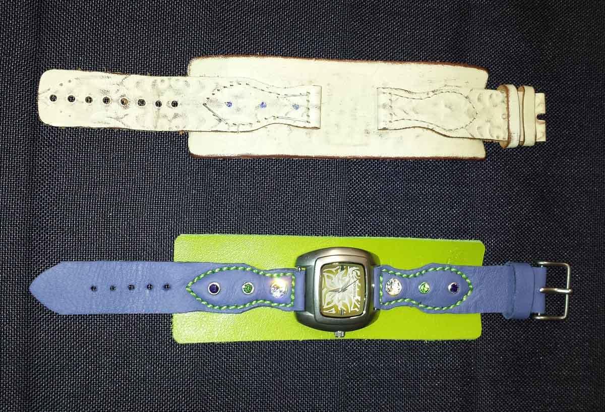 Armbanduhr, neues Band