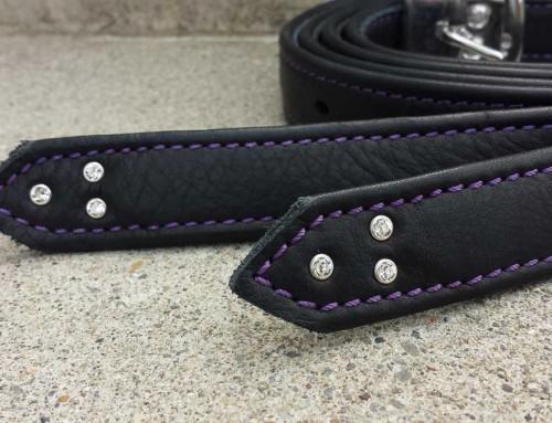 Bügelriemen, Crystal, violett