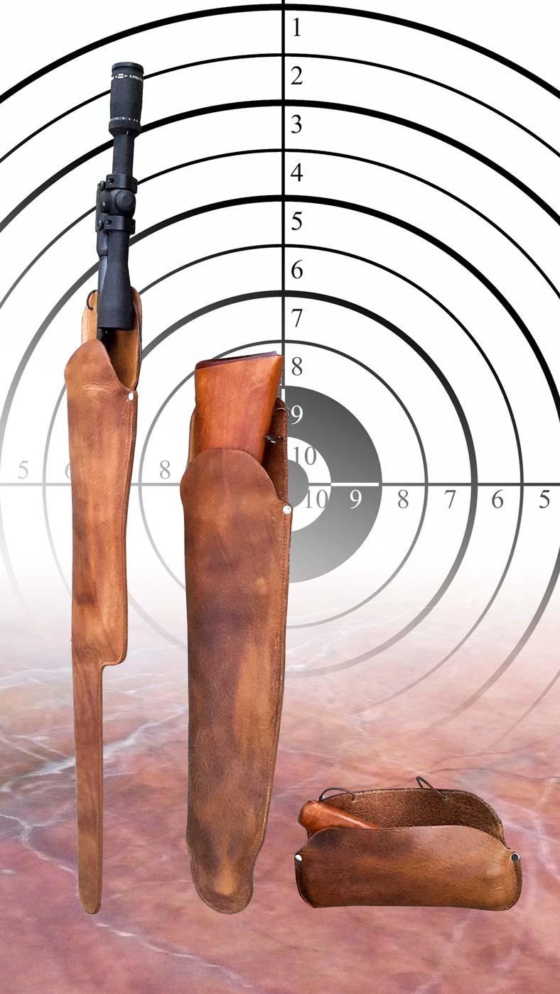 Gewehrtaschen zur Aufbewahrung des Gewehrs und Zubehör