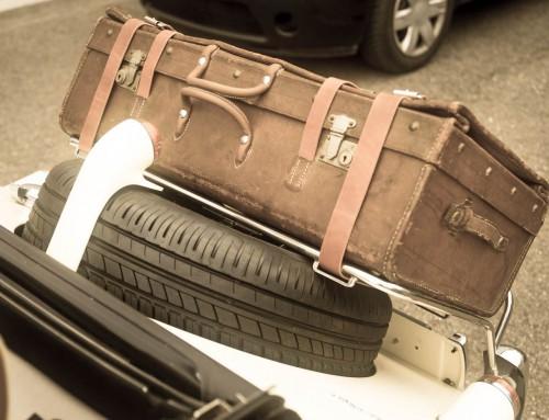 Antiker Koffer (restauriert)